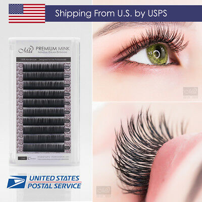 840e1d76f9e [US Shipping] Faux Mink Eyelash Extension Semi Permanent Synthetic Mink