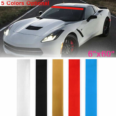 "vinyl sticker decal Sun Strip Visor Choose Color 60/"" x 10/"" Windshield Banner"