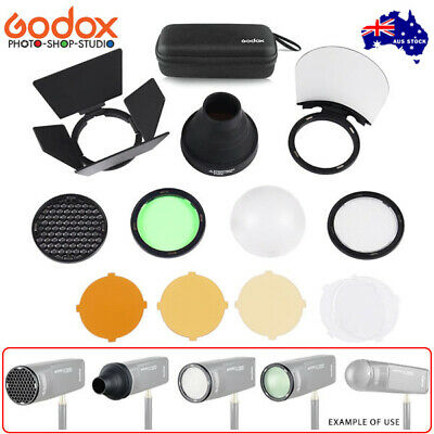 AU STOCK * Godox AK-R1 Round Head Accessory Kit for AD200 , H200R
