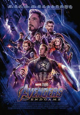 Avengers Endgame Movie Poster Print Art 8x10 11x17 16x20 22x28 24x36 27x40 C