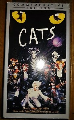 CATS THE MUSICAL (VHS, 2000, 2,Tape Set, Commemorative