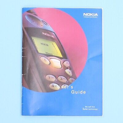 Nokia 5110 Mobile Phone Instruction Booklet Manual