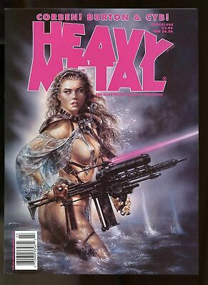 Heavy Metal Magazine March 1994 Near Mint 9.4 Royo Cover