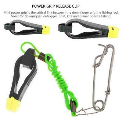Heavy Tension Snap Release Clip Heavy-Duty Outrigger Downrigger Power Grip