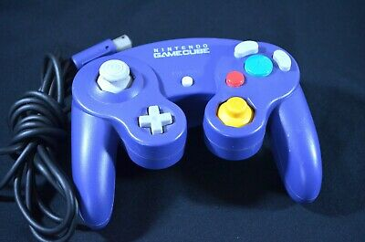 Official Nintendo GameCube Controller - Original Purple - DOL-003 - Tested