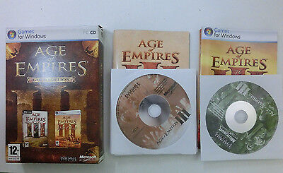 Age of Empires III - 3 Gold Edition inkl. The War Chiefs für PC - CIB - Komplett
