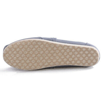 Mens Womens Canvas Plimsoll Loafer Espadrille Shoes Comfy Slip On Walking Flats