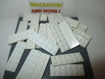 LEGO Part 3795 Blanc Plaque 2 X 6 LOT DE 10 PIECES
