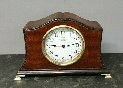 Vintage Oswin & Co. Ltd. of Hereford. 8 Day Mahogany Mantle Clock