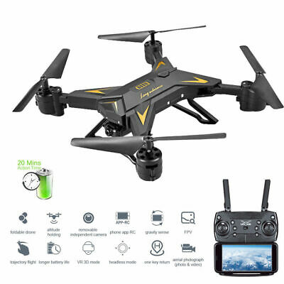 Drone Foldable Quadcopter Drone with Camera RC Helicopter HD 5MP WIFI FPV Selfie