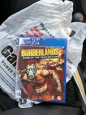 INHAND FREE SHIPPING Borderlands Game of the Year Edition PlayStation 4 PS4 Rare