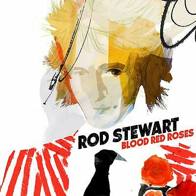 Rod Stewart Blood Red Roses CD Fast & Free Post