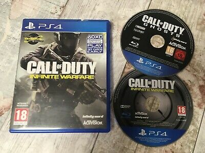 2 Games for Sony Playstation 4 PS4 - Call of Duty Infinite Warfare & Ghosts
