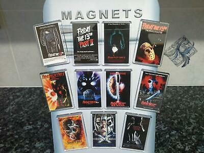 Friday the 13th Fridge Magnet Choice. Movie Poster Art. Jason Voorhees
