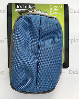 Dog Treats Poo Bag Pouch Obedience Training Blue  Zip Fastener - Belt Loop - New