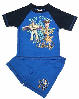 Official Toy Story Boys Girls Kids Childrens Pyjamas Pajamas Pjs 18M 2 3 4