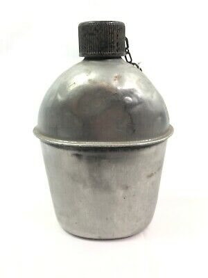 WWII WW2 US U.S. Canteen,SM Co 1944,C10,Army,Military,Dated,Original,Vintage,War