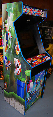 Mario Themed Upright Arcade Cabinet Lots of Games! Simpsons, XMen, TNMT, NEO GEO