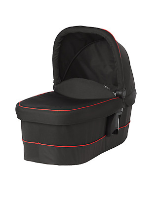 Graco Evo XT Luxury Pushchair Carry Cot Black & Red