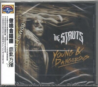 The Struts: Young & Dangerous (2018) TAIWAN OBI CD SEALED