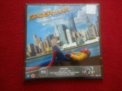 Spiderman Homecoming Blu-ray Dvd Big Sleeve Edition brand new and sealed rare