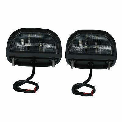 2pk Genuine Britax LED Number Plate Light Lamp Trailer Caravan Classic Car