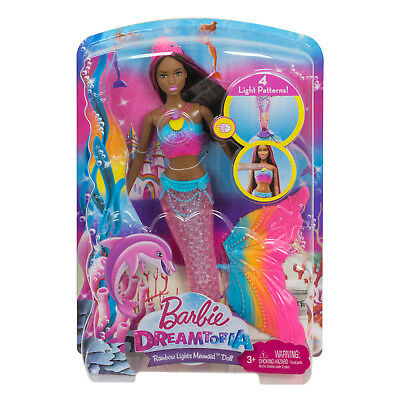 Barbie Rainbow Mermaid Dreamtopia Doll with Light Bath Toy