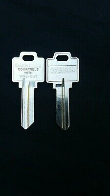 50 Kwikset Weiser ilco Smartkey, Key Blanks 800004-355 WR6 / KW1 Box of 50 NEW!!