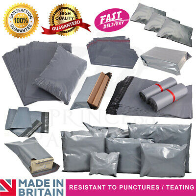 "28""x34"" - 700x850mm Grey Mailing Bags Self Seal Strong Postage Postal Poly Pack"