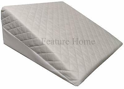 Orthopaedic Wedge Foam Pillow - Helps Gently Relieve Acid-Reflux and Back Pain