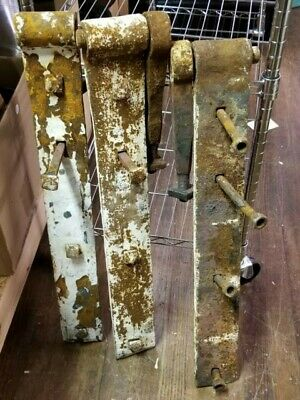 "Cast Iron 38"" / 24lb Industrial Door Hinge Heavy Duty Large EACH SOLD SEPARATELY"