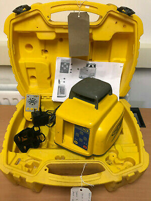 Spectra Precision Ll400 Rotating Laser Level, Remote, Charger & Case