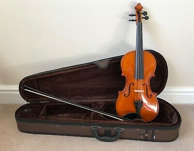 Stentor Andreas Zeller 4/4 Violin For Ages 12+ Bow And Case 14 Inch Body