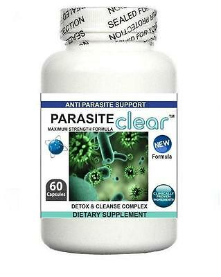 2x Parasite Cleanser Pills Detox Colon Liver Cleanse Flush Healthy Gut Digestion