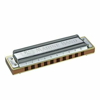 Hohner Marine Band 1896 Classic Harmonica 1896/20 In D *30 Days Of Free Lessons*