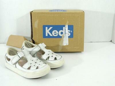 76ef9845409 KEDS SHOES GIRLS 13.5 Original White Leather Champion CVO Sneakers ...