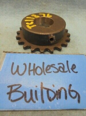 """Martin 35Bs20 Roller Chain Sprocket, 7/8"""" Bore, 3/8"""" Pitch, 35 Chain, 2.593"""" Od"""