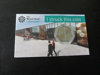 2018 ISAAC NEWTON 50p  COIN  (BUNC) !!STRIKE YOUR OWN COIN!! from Royal Mint  M5