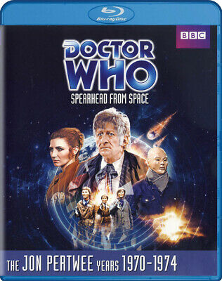 Doctor Who - Spearhead From Space (Jon Pertwee) (1970-1974) (Story - 5 (Blu-Ray)