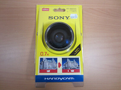 SONY Handycam VCL-HG0737C 0.7x High-grade 37mm Wide Angle Conversion Lens