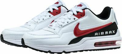 sports shoes b7c1a 2b9ae BV1171-100 Men s Nike Air Max LTD 3 Running Shoes White Red Black