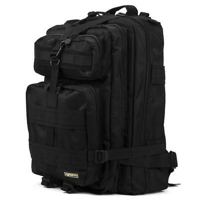Tactical Backpack Military Rucksack Molle Army RFID Daypack 40L Camp Sport Bag