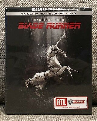 BLADE RUNNER 4K UHD blu-ray DIGIPACK 4-DISC w/BOOKLET ENG DOLBY ATMOS NEW SEALED