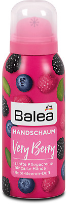 Balea Hand Care Foam, Very Berry, Berry Fruit Fragrance, 100 ml