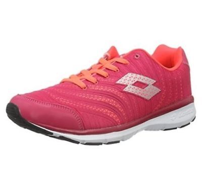 Scarpe Sneakers Running Donna LOTTO S4513 WAVE AMF Magenta / Rosso Fluo