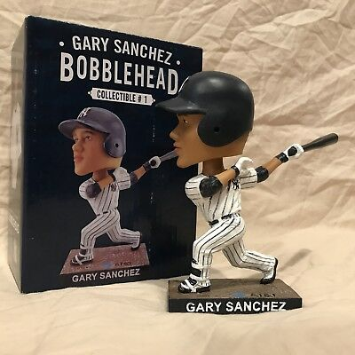 Gary Sanchez SGA 4/30/2017 New York Yankees Bobble Bobblehead Statue Figurine