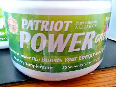 Patriot Health Alliance Power Greens Berry Flavor 5.7 oz 30 servings