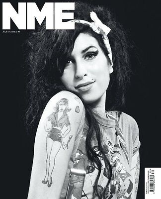NME Magazine AMY WINEHOUSE PJ Harvey Marcus Mumford Eavis Noel Gallagher