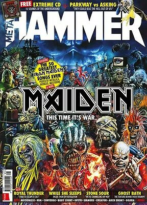 Metal Hammer Magazine Iron Maiden This time it's War EXTREME CD SEALED LAST COPY