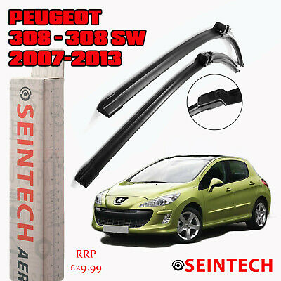 "Peugeot 308 Sw 2007-2013  Specific Fit Front Windscreen Wiper Blades 30""26"""